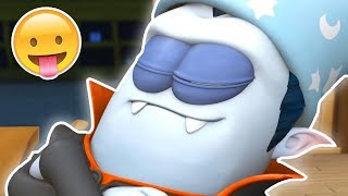 Funny Animated Cartoon | Spookiz | Best Sleeping Prank | 스푸키즈 | Kids Cartoons | Videos for Kids