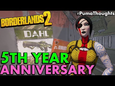 Borderlands 2 5th Year Anniversary! Randy Pitchford about Borderlands 3 #PumaThoughts
