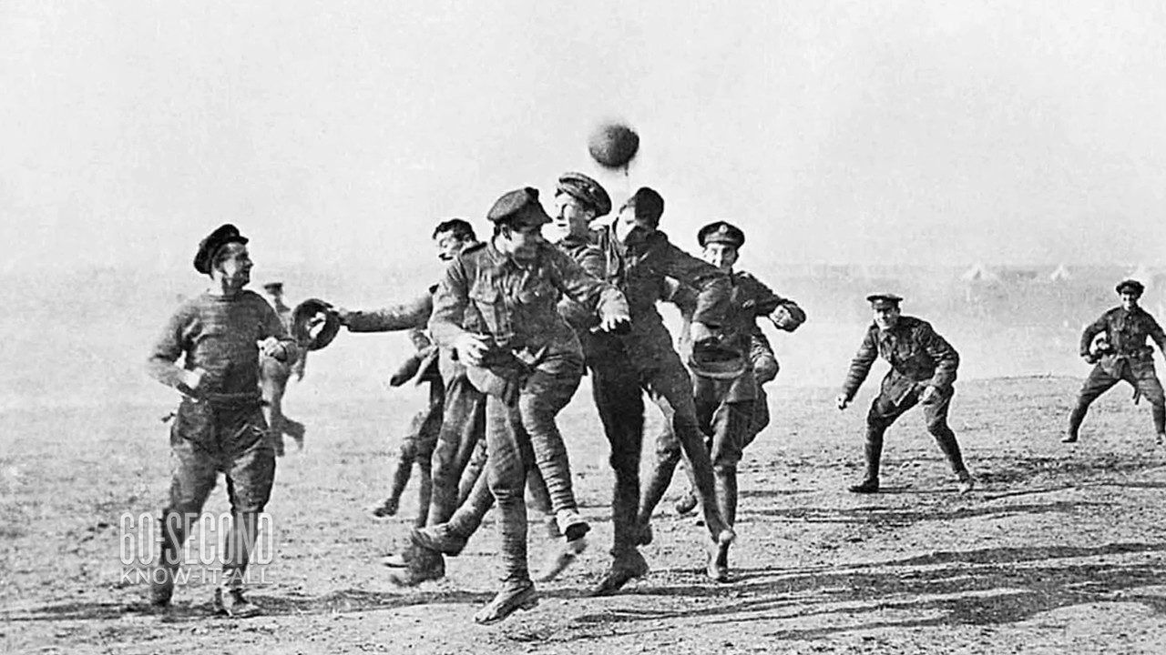 The 1914 Christmas Truce in World War 1: 60-Second Know-It-All ...