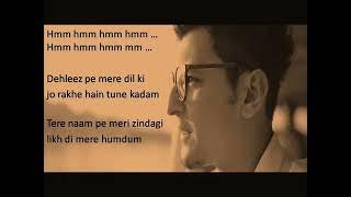 ||Raj sahu || Jeena Jeena lyrics video song by #Darshan raval