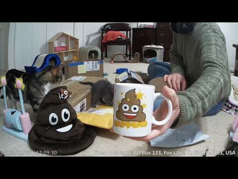 Mailbag & Unboxing, 2017-02-11 'SO MUCH POOP'