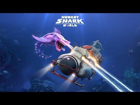 Hungry Shark World Dark Magic - English