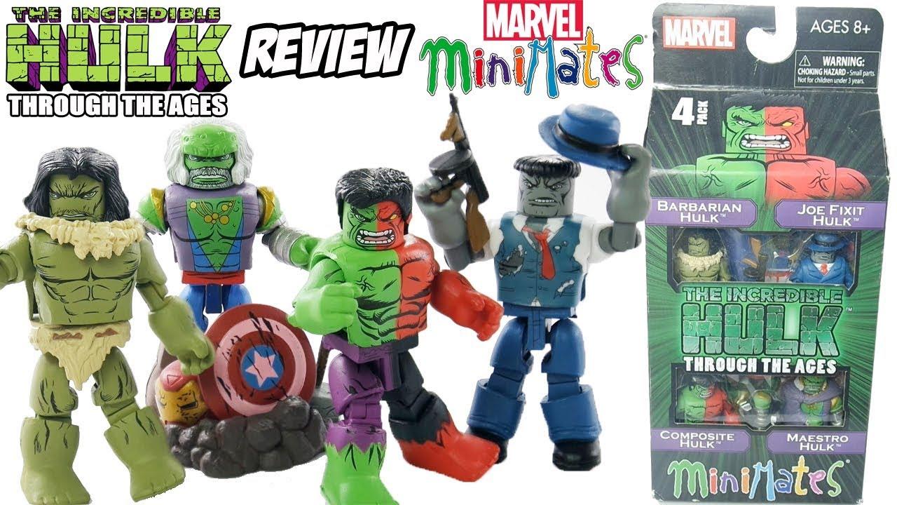 2 Pack Set NEW MINIMATES Marvel HULK /& THING