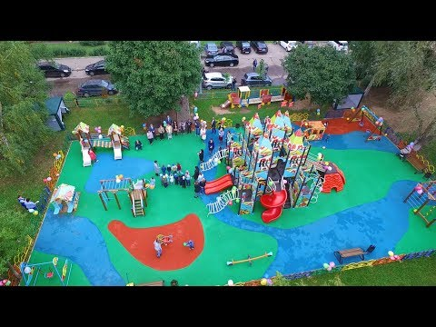 Открытие детской площадки в Красногорске на Железнодорожной улице.из YouTube · Длительность: 1 мин48 с
