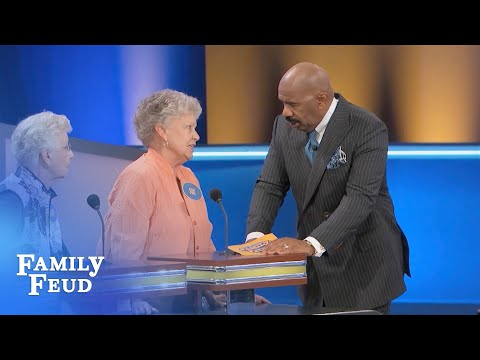 Carol and Sue DID NOT like THIS ANSWER! | Family Feud
