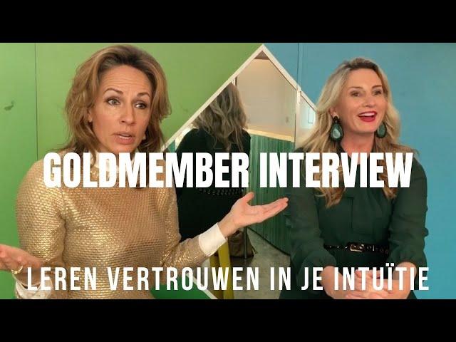 Leren vertrouwen in je intuïtie. Interview Monique Eijbergen