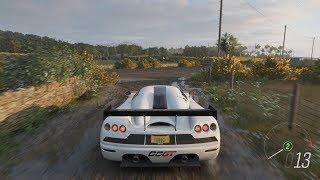 Forza Horizon 4 - 2008 Koenigsegg CCGT Gameplay [4K]