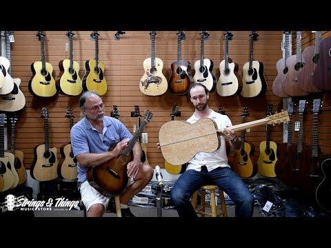 Strings & Things Music - Mike Bilodeau & Brad Myrick present Martin Custom Shop models