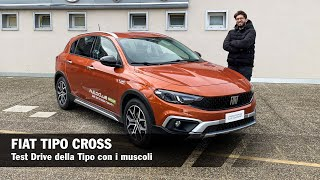 FIAT TIPO CROSS | Test Drive of the Tipo with Muscles (ENG SUBS)