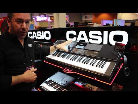 New From Casio at SNAMM 2018 in Nasvhille