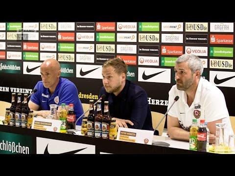 38. Spieltag | SGD - FCH | Pressekonferenz nach dem Spiel