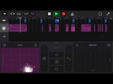 Electronic Music - GarageBand - iPhone作曲