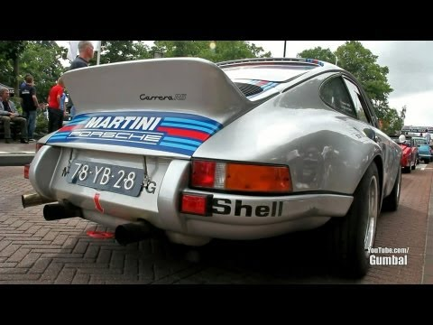 Martini Racing Porsche 911 2.7 Carrera RS - Great cracking sound!!