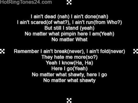 TI  No Matter What with lyrics
