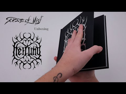 Heilung - Unboxing limited edition 'Ofnir' book
