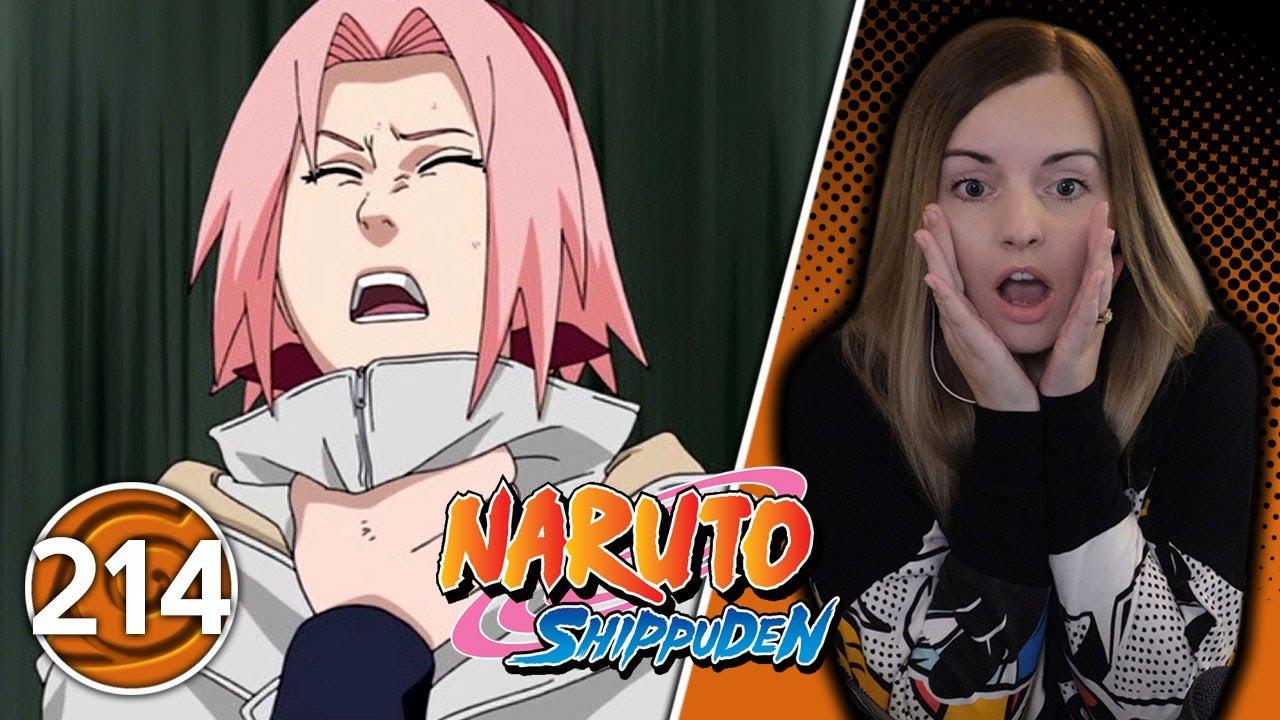 Sasuke Attacks Sakura?? - Naruto Shippuden Episode 214 Reaction | Suzy Lu