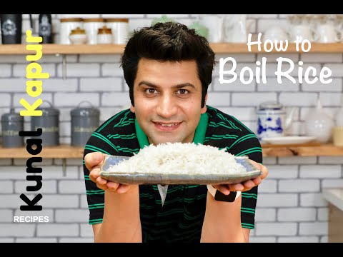 How to Boil Rice Perfectly | Kunal Kapur Recipes