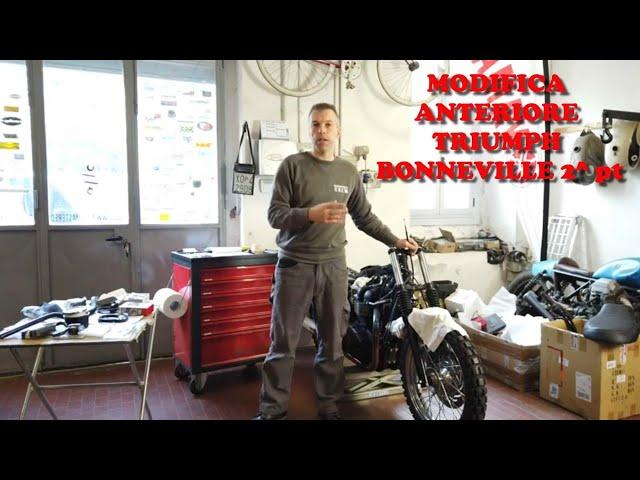 EP. 7 PT. 2 TRIUMPH BONNEVILLE T 100 SECONDA PARTE