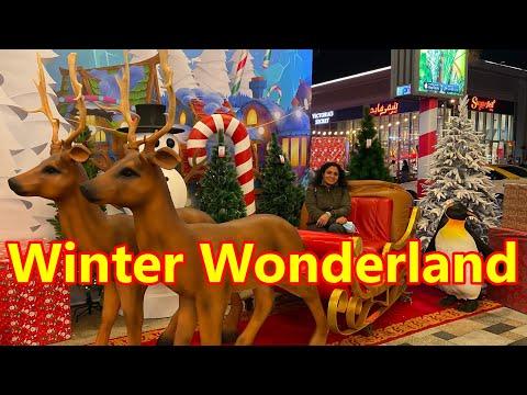Winter Wonderland JBR Walk | Christmas vibes | Winter Dubai