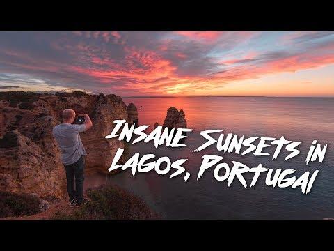 How to solo travel Europe: Insane Portugal Sunsets! @shangerdanger vlog (1 of 3)