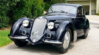 1937 The Year Of Elegance: Cadillac Series 90 Roadster And Alfa Romeo 8c 2900b Touring Berlinetta