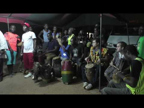 Dance Africana March 2016 (Performing Agbadza, Anglo, Kinka, Gota, Atsiagbekor)