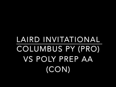 Columbus PY vs Poly Prep Country Day AA Laird Octos