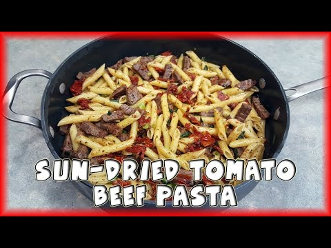 Sun-Dried Tomato And Beef Pasta