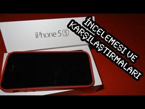 IPhone 5S İncelemesi Ve Karşılaştırmaları