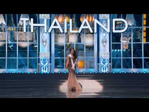 Miss Thailand Universe 2013  - Preliminary Competition - Evening Gown