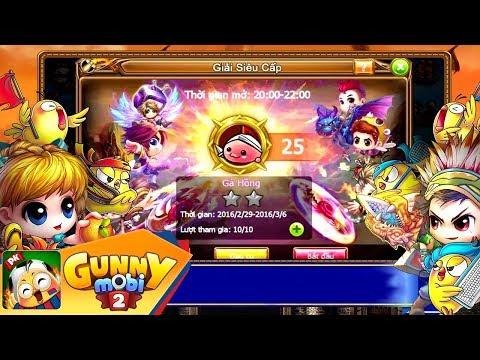 [Gunny Mobi 2.0] Giải đấu liên server hấp dẫn