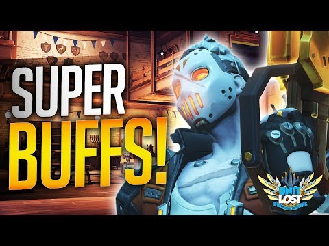 Overwatch - HITSCAN is Back! SUPER Soldier 76! + McCree BUFFS!