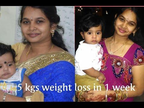 5 Kgs Weight Loss In 1 Week 7days Weight Loss Program No