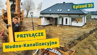 Przyłącze Wodno-Kanalizacyjne  🚧💦 | Epizod 30 | Budowa Domu Systemem Gospodarczym