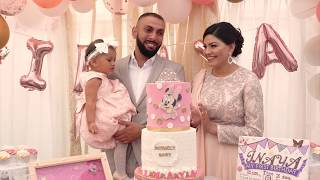 Inaya's 1st Birthday | Emotional Father Speech | TaZzZ & Saima