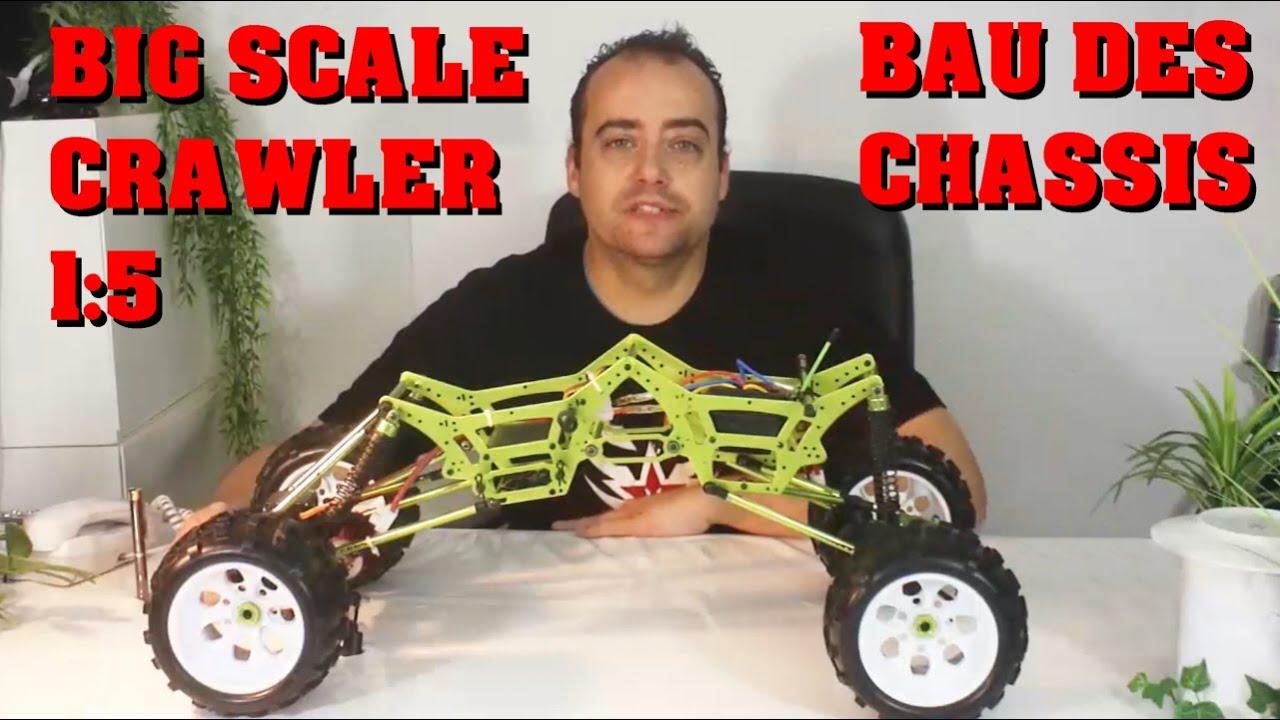 HUGE BIG SCALE ROCK CRAWLER 1:5 - Bau Teil 1 - Chassis - Darconizer ...