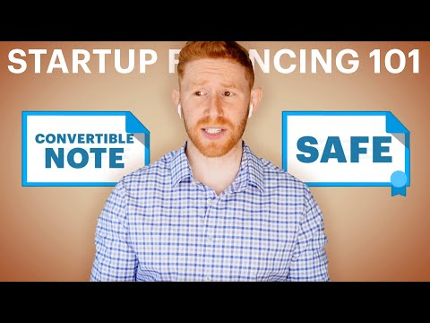 Startup financing 101: What's a valuation cap? SAFEs and convertible notes explained