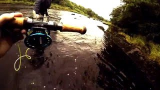Salmon fishing in Ireland - a day on the River Mourne