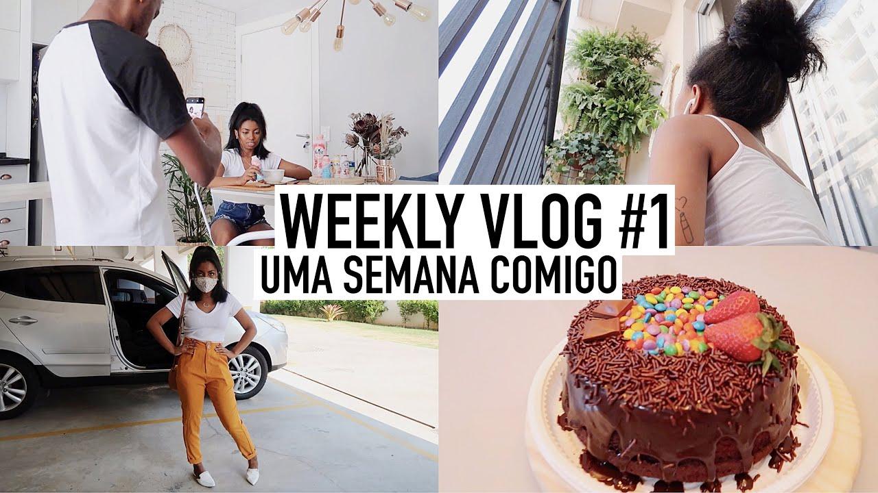 Weekly vlog #1 MUITO TRABALHO, VOLTEI PARA TERAPIA & ANIVERSÁRIO do Thiago 🎉