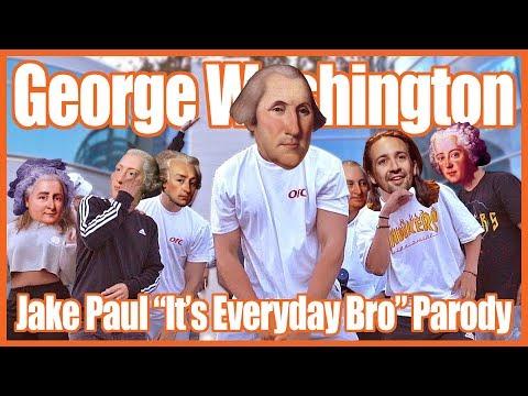 George Washington In the Revolution - Jake Paul Parody
