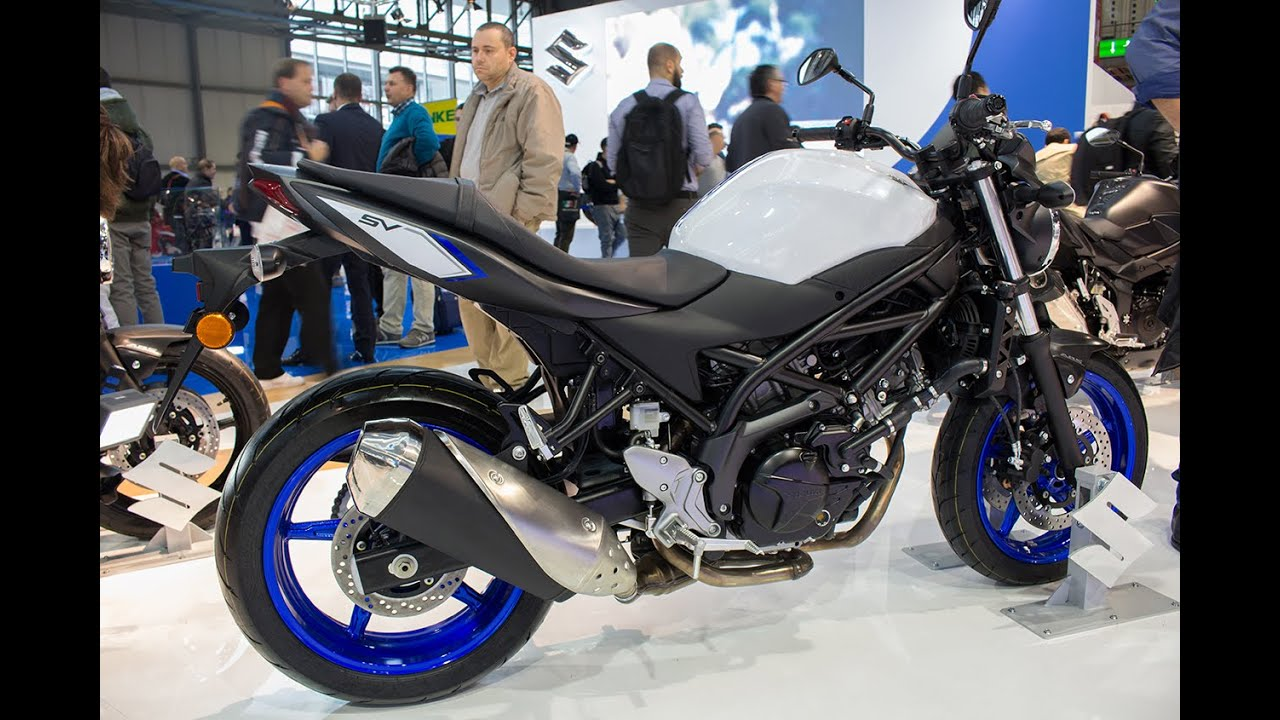 eicma 2015 video suzuki sv650 abs 2016 youtube. Black Bedroom Furniture Sets. Home Design Ideas