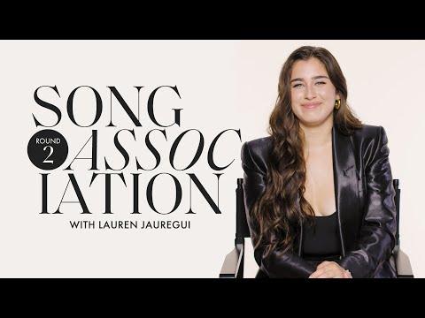 Lauren Jauregui Is Back For Round 2 Of Song Association, Sings Summer Walker, Beyoncé, & More | ELLE