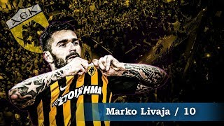 Marko Livaja ● Criminal - Goals,Skills,Assists | AEK FC - 2017/2018 (HD)