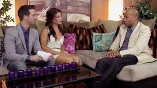 Toys on client couch casting Blonde agent