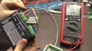 видео Драйвер шаговых двигателей  SMD-4.2DIN