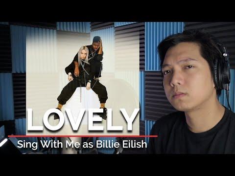 Lovely (Male Part Only - Karaoke) - Billie Eilish Ft. Khalid