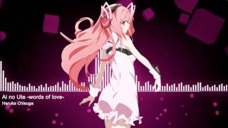 Ai no Uta -words of love- [Nightcore] Gakusen Toshi Asterisk Ending 2