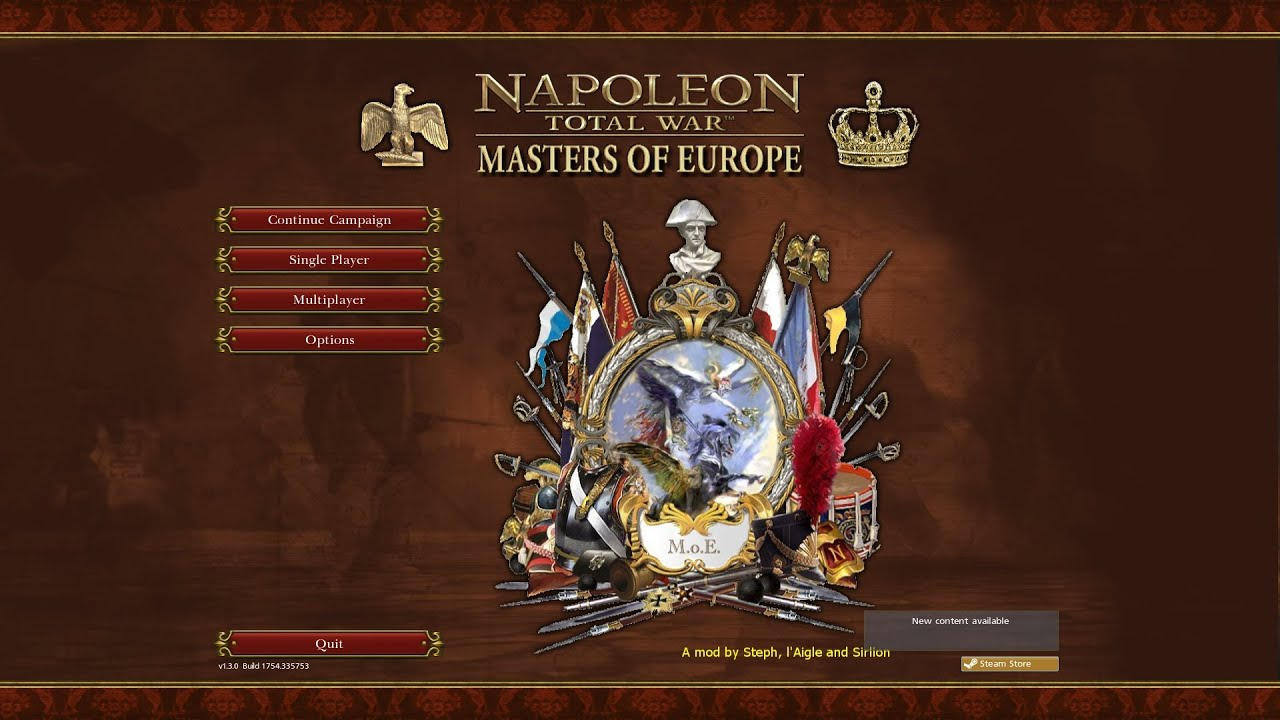 masters of europe napoleon total war kamp225nyelőzetes