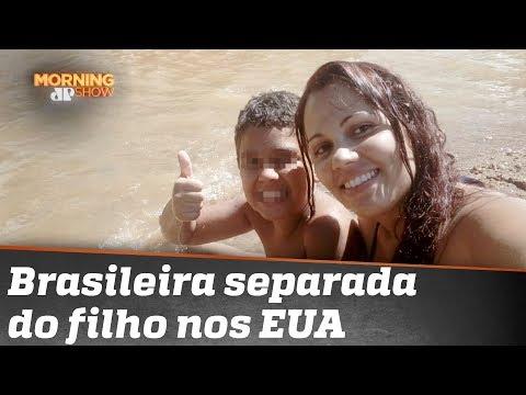A História Da Brasileira Separada Do Filho Nos EUA