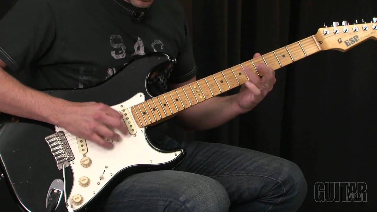 Used ESP VINTAGE PLUS Solid Body Electric Guitar